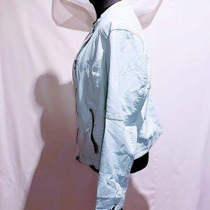Metaphor Jackets & Coats - Metaphor Mint Vegan leather Moto Jacket XXL🦄💋